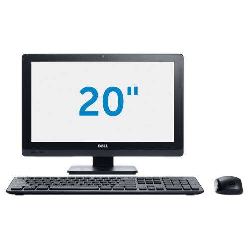 Dell Inspiron One 2020 All-in-One Computer - Intel Pentium G2030T 2.60 GHz - Desktop - Black