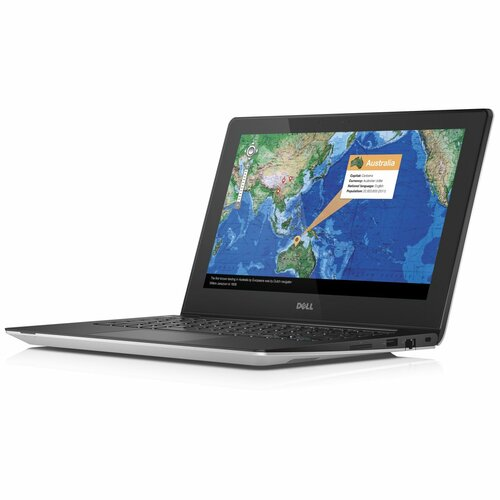 "Dell Inspiron i3137-3751sLV 11.6"" Touchscreen LED (TrueLife) Notebook - Intel Celeron 2955U 1.40 GHz - Silver"