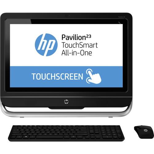 HP Pavilion TouchSmart 23-h000 23-h070 All-in-One Computer - Intel Core i3 i3-4130T 2.90 GHz - Desktop
