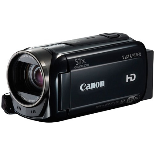 NEW-Canon-Camcorders-HFR50-VIXIA-HF-R50-High-Definition-Digital-Camcorder