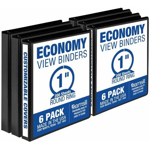 "Samsill 1"" Value View Binders | by Plexsupply"
