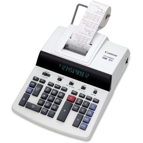 Canon CP1200DII Commercial Desktop Calculator