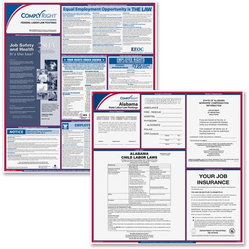 TFP ComplyRight Alabama Fed/State Labor Law Kit