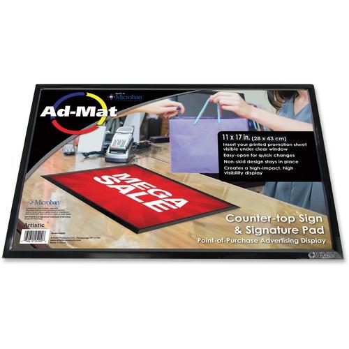 Artistic Artistic Ad-Mat Sign/Signature Pad
