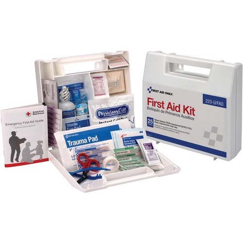 First Aid Only 25-person First Aid Kit | by Plexsupply