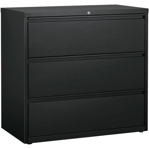 Lorell Hanging File Drawer Charcoal Lateral Files