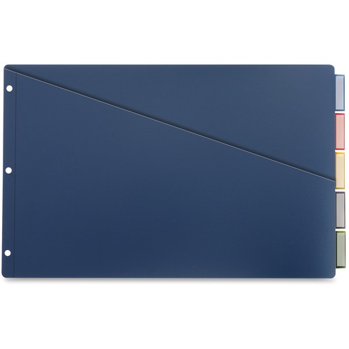 Cardinal Insertable 11x17 Punched Poly Dividers | by Plexsupply