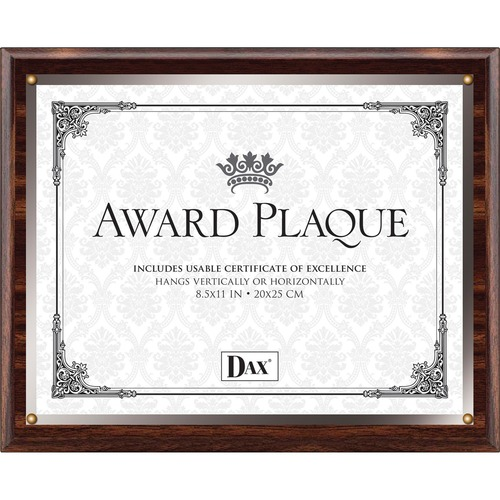 Burns Grp. Wooden Insert Plaques | by Plexsupply