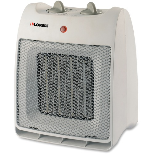 Lorell Adjustable Thermostat Ceramic Heater