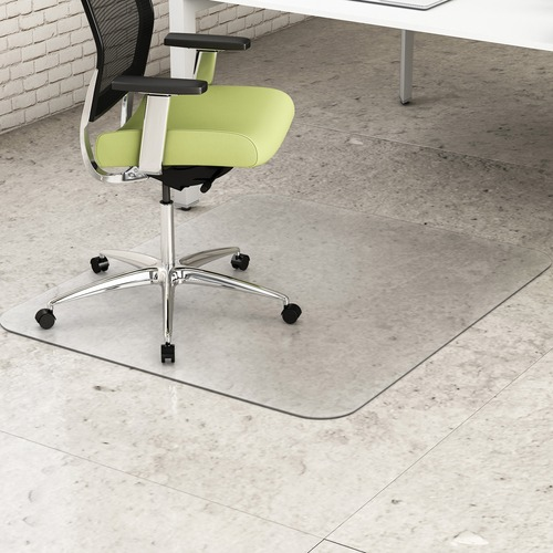 Deflecto Hard Floor EnvironMat Recycled Chairmat | by Plexsupply