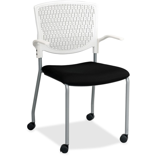 Lorell Plastic Back Guest Chair