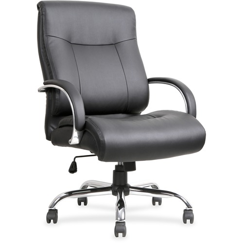 Lorell Leather Deluxe Big/Tall Chair | by Plexsupply