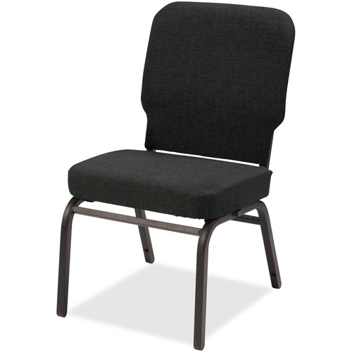 Lorell Fabric Back/Seat Oversized Stack Chairs