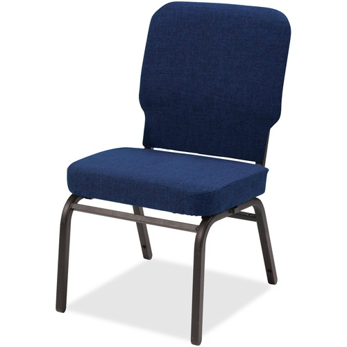 Lorell Upholstered Armless Oversized Stack Chair | by Plexsupply