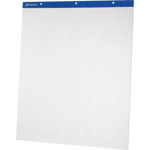Ampad Plain Perforated Easel Pad