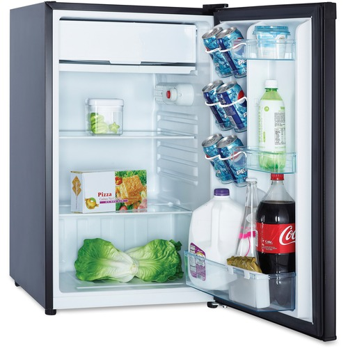 Refrigerator, 4.4cf cap, energy star compliant, black, sold as 1 each