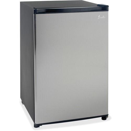 Avanti Model RM4436SS - 4.4 CF Counterhigh Refrigerator - Black w/Stainless Steel Door