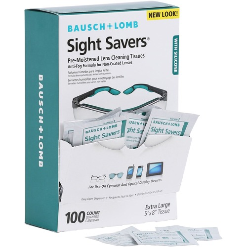 Bausch & Lomb Pre-moistened Cleaning Tissues