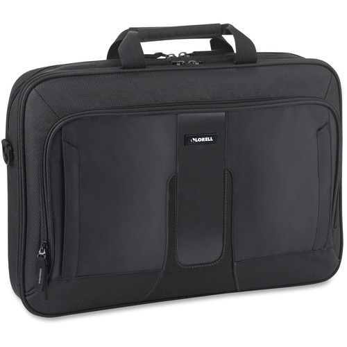 "Lorell Carrying Case (Briefcase) for 17.3"" Notebook - Black"