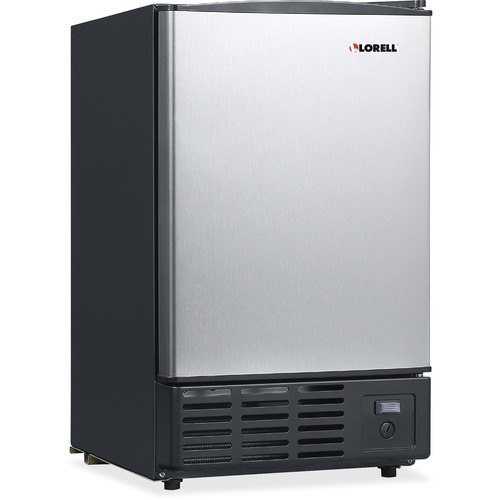 Lorell 19-Liter Stainless Steel Ice Maker | by Plexsupply