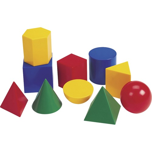 "Learning Res. Large 3"" Geometric Shapes Set 