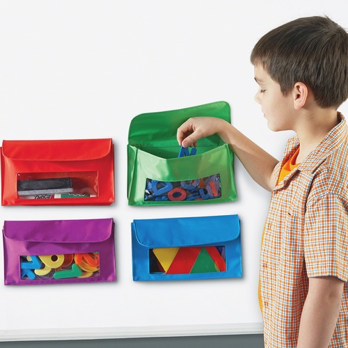 Learning Res. Magnetic Storage Pocket Set | by Plexsupply