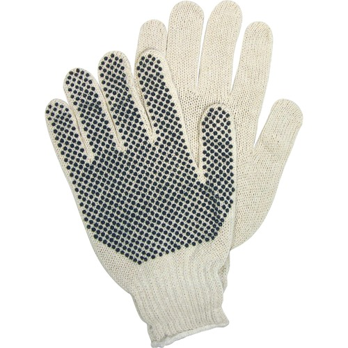 MCR Safety PVC Dots Knit/Polyester Gloves