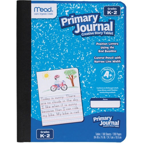 Mead Gr K-2 Classroom Primary Journal Story Tablet | by Plexsupply