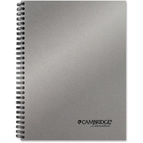 "Mead Silver 9-1/2"" Metallic Notebook"