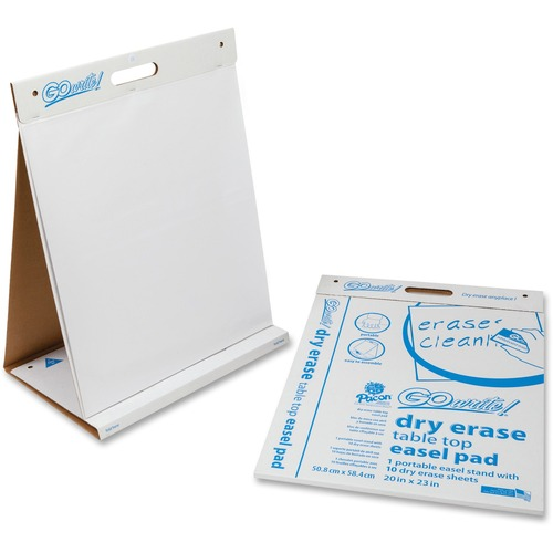 GoWrite! Clean Erase Table Top Easel Pad