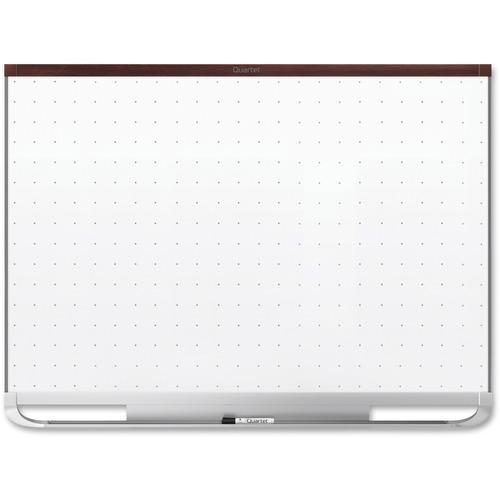 Quartet Prestige 2 Mahogany Frame Magnetic Board | by Plexsupply