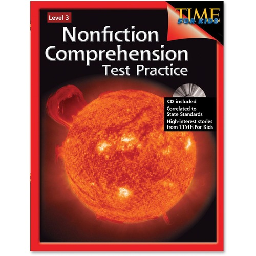 Shell Nonfiction Comprehension Test Practice: Level 3 Education Printed/Electronic Book by Jennifer Overend Prior, Edward Fry - English