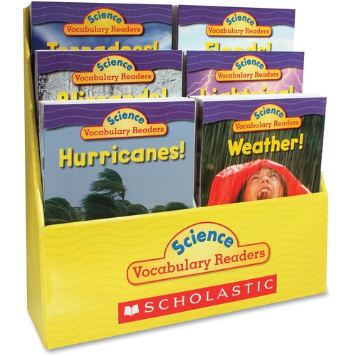 Scholastic Res. Gr 1-2 Weather Vocabulary Book Set | by Plexsupply