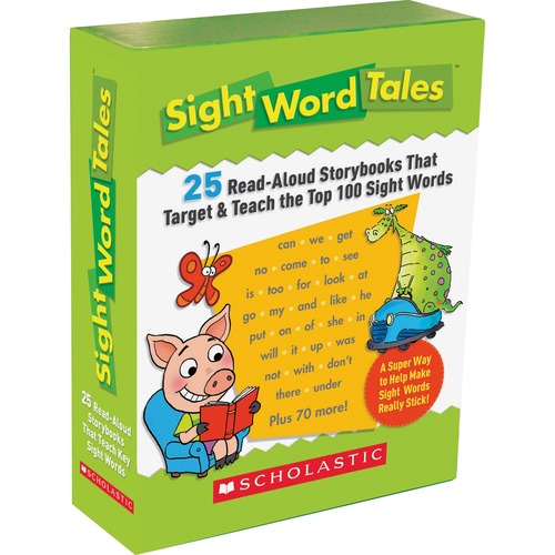 Scholastic Res. Gr K-2 Sight Word Tales Box Set | by Plexsupply
