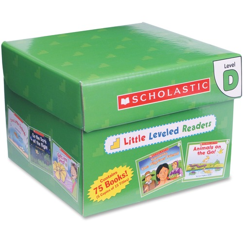 Scholastic Res. Little Level D Readers | by Plexsupply