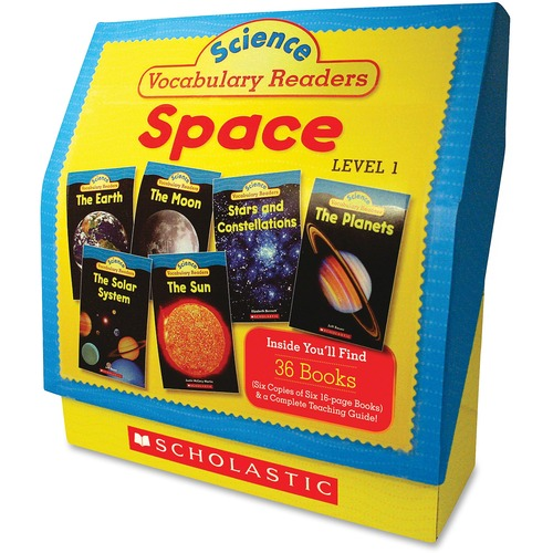 Scholastic Res. Gr 1-2 Space Vocabulary Book Set | by Plexsupply