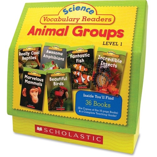 Scholastic Res. Vocabulary Readers Animal Groups | by Plexsupply