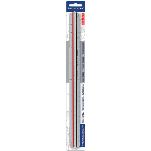 Staedtler Prof-quality Architect Triangular Scale | by Plexsupply