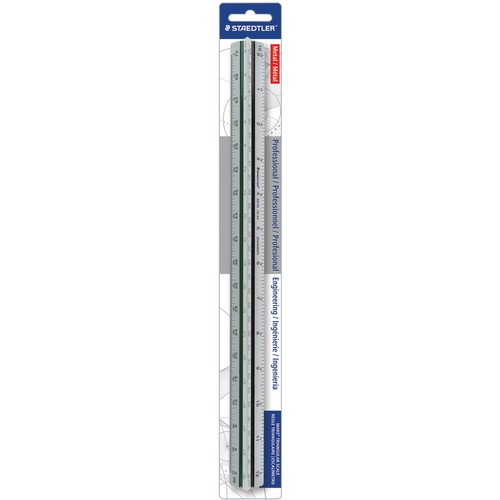 Staedtler Prof-quality Engineer's Triangular Scale | by Plexsupply