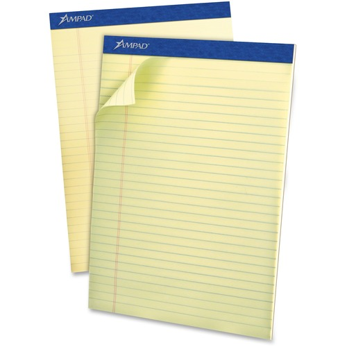 Ampad Top-bound Green Tint Ruled Writing Pads
