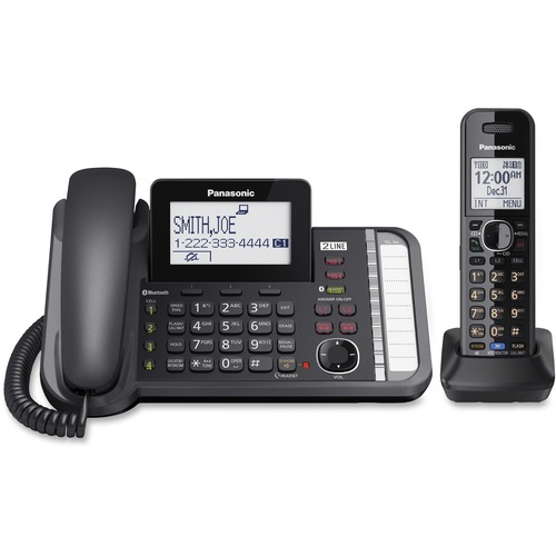 Panasonic KXTG9581B 2-line Phone | by Plexsupply