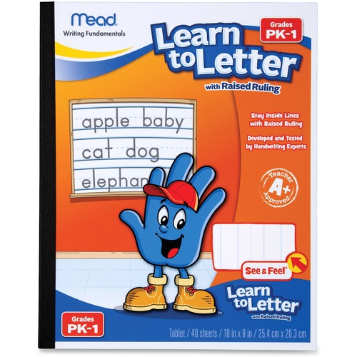 Mead Learn To Letter Writing Book | by Plexsupply
