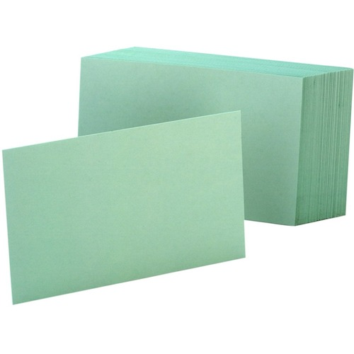 Oxford Colored Blank Index Cards | by Plexsupply