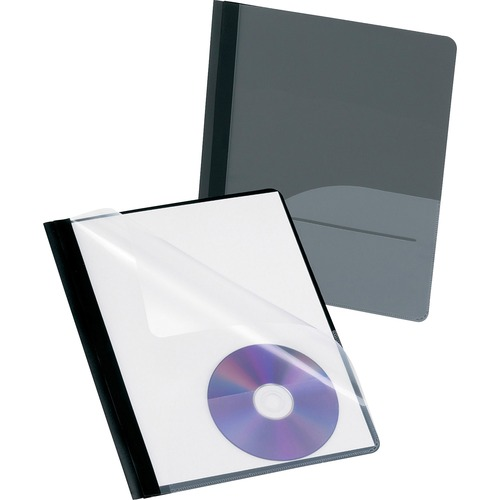 Oxford CD Pocket Clear Front Report Covers