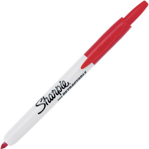 Sanford Sharpie Fine Point Retractable Markers   by Plexsupply
