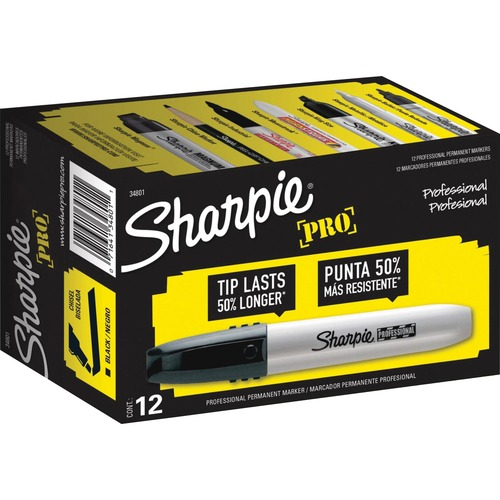 Sanford Sharpie Professional Chisel Tip Markers | by Plexsupply