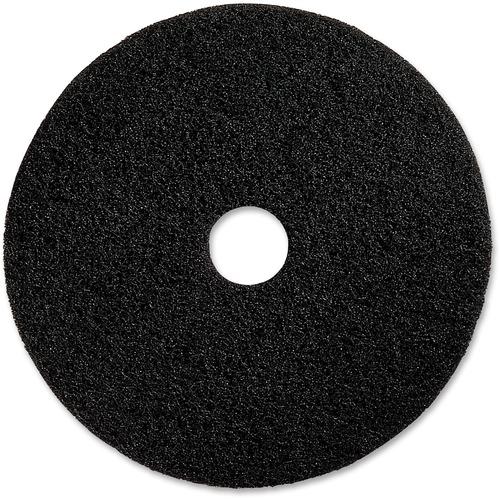 Genuine Joe Black Floor Stripping Pad | by Plexsupply
