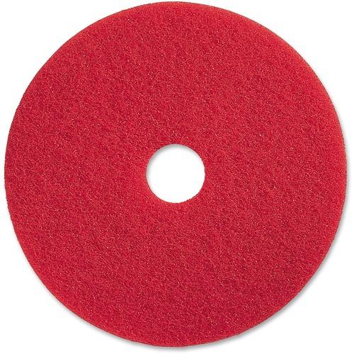 Genuine Joe Red Buffing Floor Pad | by Plexsupply