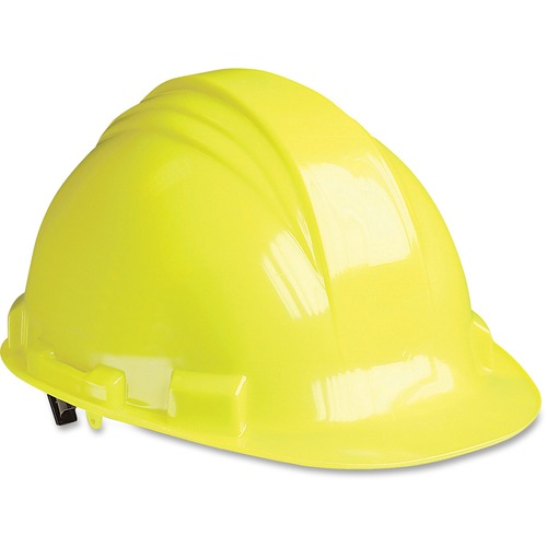 North Safety Yellow Peak A79 HDPE Hard Hat | by Plexsupply