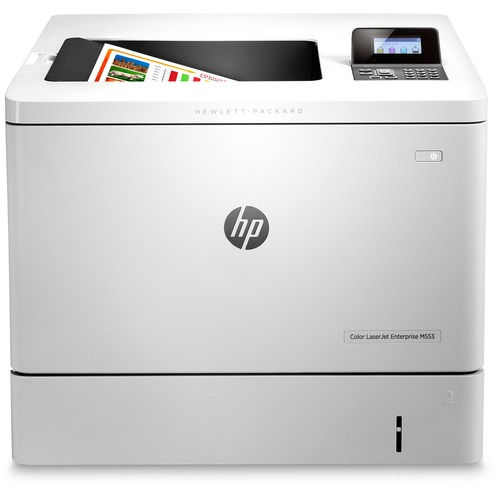 HP LaserJet M553dn Laser Printer - Color - 1200 x 1200 dpi Print - Plain Paper Print - Desktop